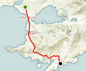 Kerry Way: Waterville to Caherdaniel Map