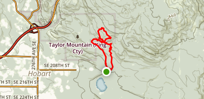 Elk Ridge, Hermit, Sherwood Map