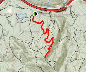 West Tiger #3 Trail Map