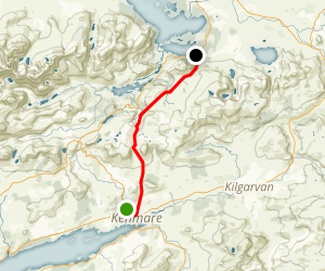 The Kerry Way: Kenmare to Muckross Lake Map