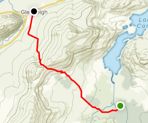 The Kerry Way: River Caragh to Glenbeigh Map