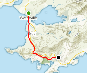 The Kerry Way: Waterville to N70 Map
