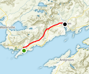 The Kerry Way: N70 to Sneem Map