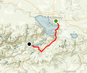 The Kerry Way: Killarney to Black Valley Map
