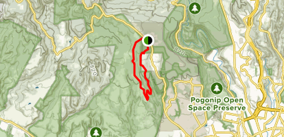 Red Mailbox and Long Meadow Loop Map