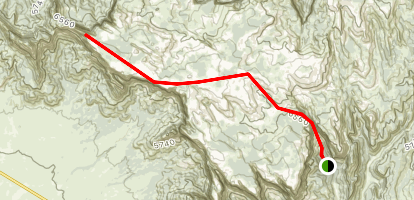 Water Canyon Map