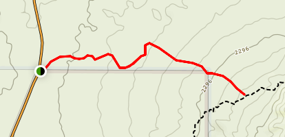 Usery Mountain Pass Bypass Trail Map