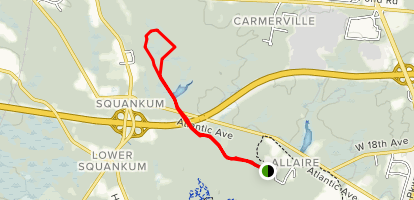 Allaire Green (Canal) Trail Map