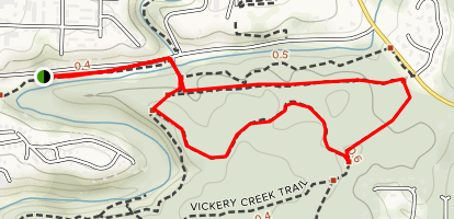 Big Creek Loop Map