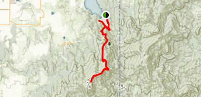 Mica Peak Map