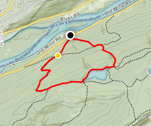 Garvey Springs Trail (Orange) and Appalachian Trail Loop Map