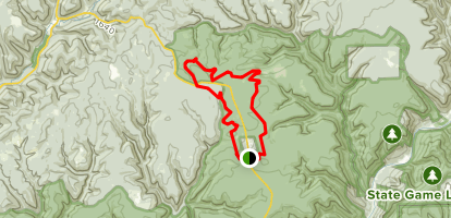 Sentiero DiShay Trail Map