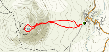 Mount Armaghan Map