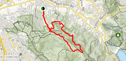 Clark Boas Trail Loop Map