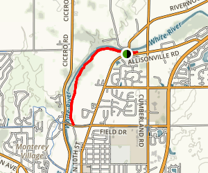 Potter's Covered Bridge Trail Map