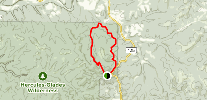 Pees Hollow Trail Map