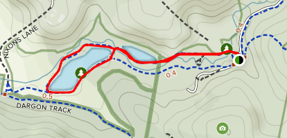 Birdsland Reserve Loop Map