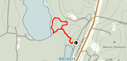 Yawgoo Pond Loop Map