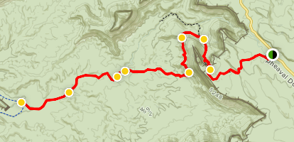 Wilhite Trail Map