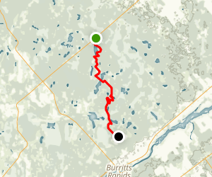 Rideau Trail: Roger Stevens to Paden Road Map