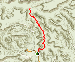 Alcove Spring Trail Map
