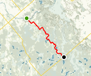 Rideau Trail: Munster to Roger Stevens Map