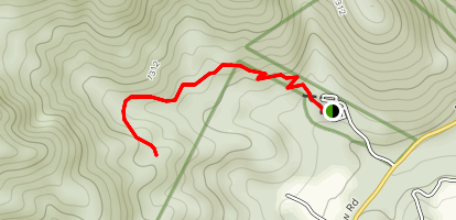 Great Mountains Trail  Map