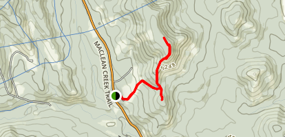 Square and Mesa Butte via Mesa Grind Trail Map