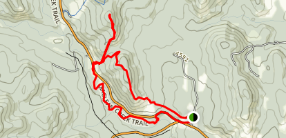 Curley Sands Trail Loop Map