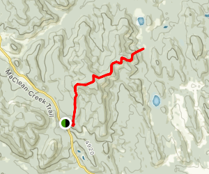 Whiskey Hill Trail Map