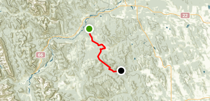 McLean Creek to Valley Trail Map