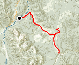 Quirk Creek Map