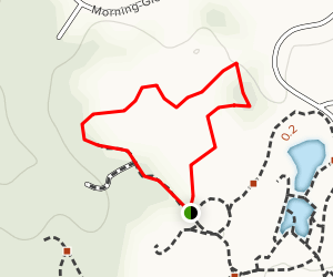 Cox Arboretum Red Trail Map