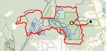 Patten Forest Loop Map