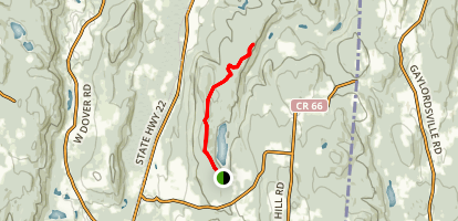 Paling Park Red Trail Map