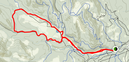 Moose Meadows Loop Map
