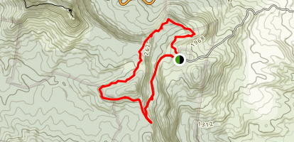 Spicer's Gap and Mountt Matheson Map