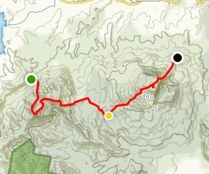 Mount May - Maroon Traverse Map