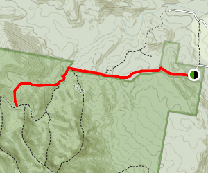Lower Portals to Barney Gorge Junction Camp Map