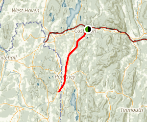 Delaware and Hudson Rail-Trail Map
