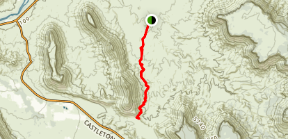 Sylvester Trail Map