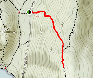 Pemetic Northwest Trail Map