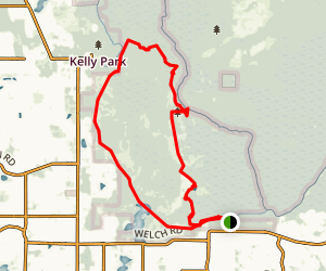 White Trail Loop Map