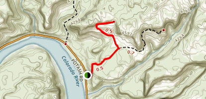 Pinto Arch Trail Map