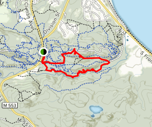 Gorge-ous, Doctors and Grom Loop Trail Map