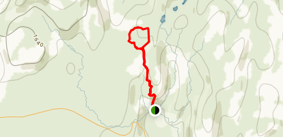 Reykjadalur Hot Spring River Trail Map