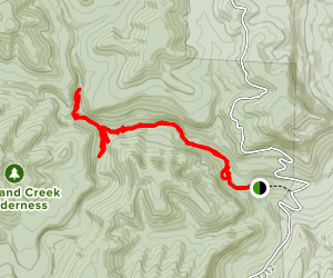 Twin Falls Trail Map