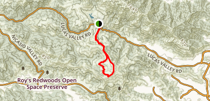 Big Rock Loop Map