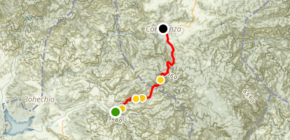 Guayabal to Constanza Route Map