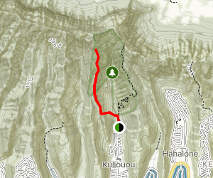 Kuliouou West Ridge Trail Map